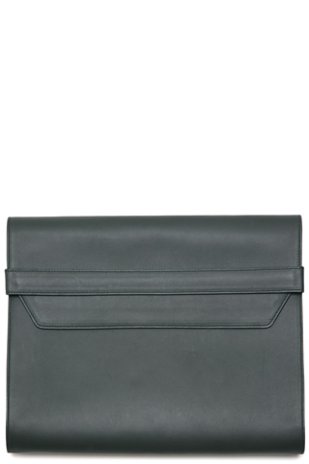 DarkGreen Leather Portfolio